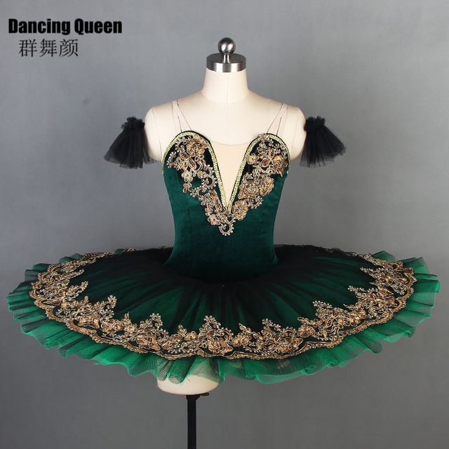 a8e4aee9ebce4 Amazing Deep green ballet tutu for ballerina Women Girls ballet dance  costumes Pancake Platter tutus Bll090-in Ballet from Novelty & Special Use  on ...