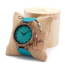 De alta Calidad de Madera De Bambú Para Los Hombres Y Mujeres Japonesas miytor 2035 de Cuarzo Analógico Casual Reloj Con Caja de Regalo