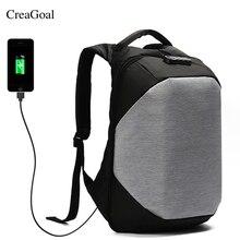 2018 Design Men Backpacks USB Charging Anti-theft Backpack Waterproof Bag Male Casual Business Travel Security School Back pack