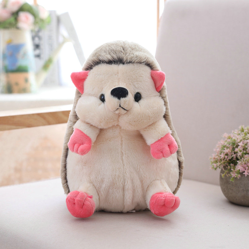 1pc 20cm Cute Cartoon Hedgehog Plush Doll Staffed Soft Lovely Animal Plush Toys Home Wedding Party Toys for Kids Gift