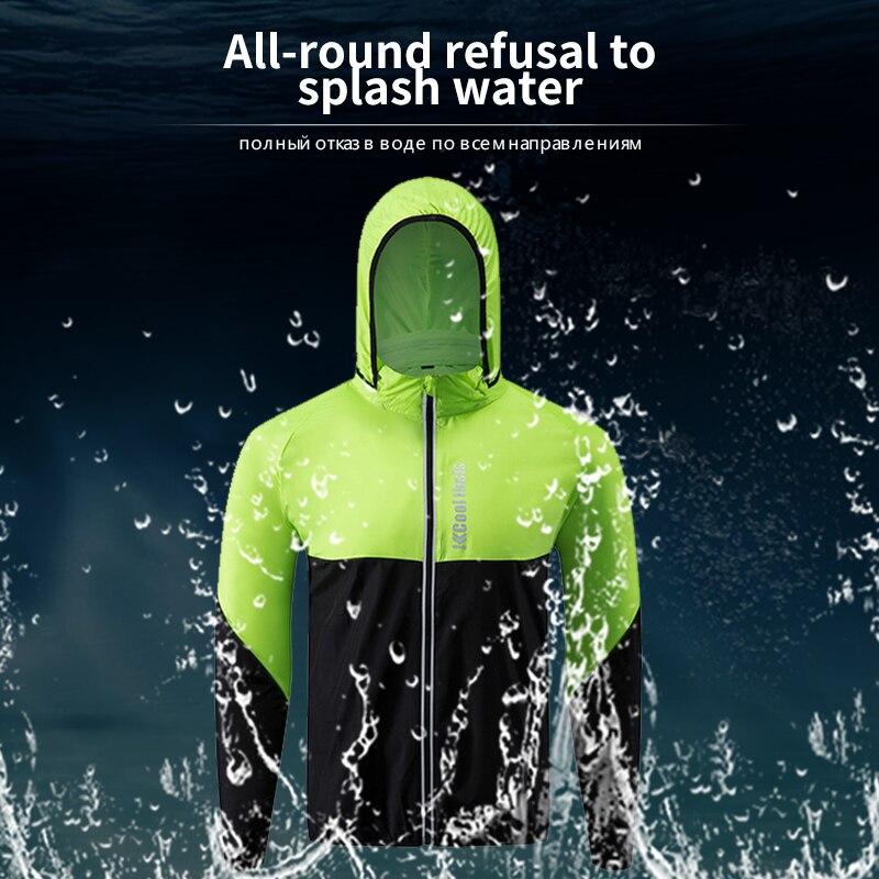 À capuche Maillot Imperméable vêtements de sports perméables à séchage Rapide Randonnée Alpinisme Camping Vêtements
