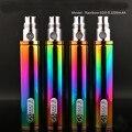 Best selling Arco Iris cigarrillo electrónico H2 eGo II 2200 mah batería para ce5 ce4 V2 510 mini atomizador de alta calidad