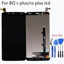 Digitalizador de pantalla táctil de pantalla LCD de 5,5 pulgadas para BQ Aquaris V PLUS, kit de reparación de pantalla LCD de teléfono móvil