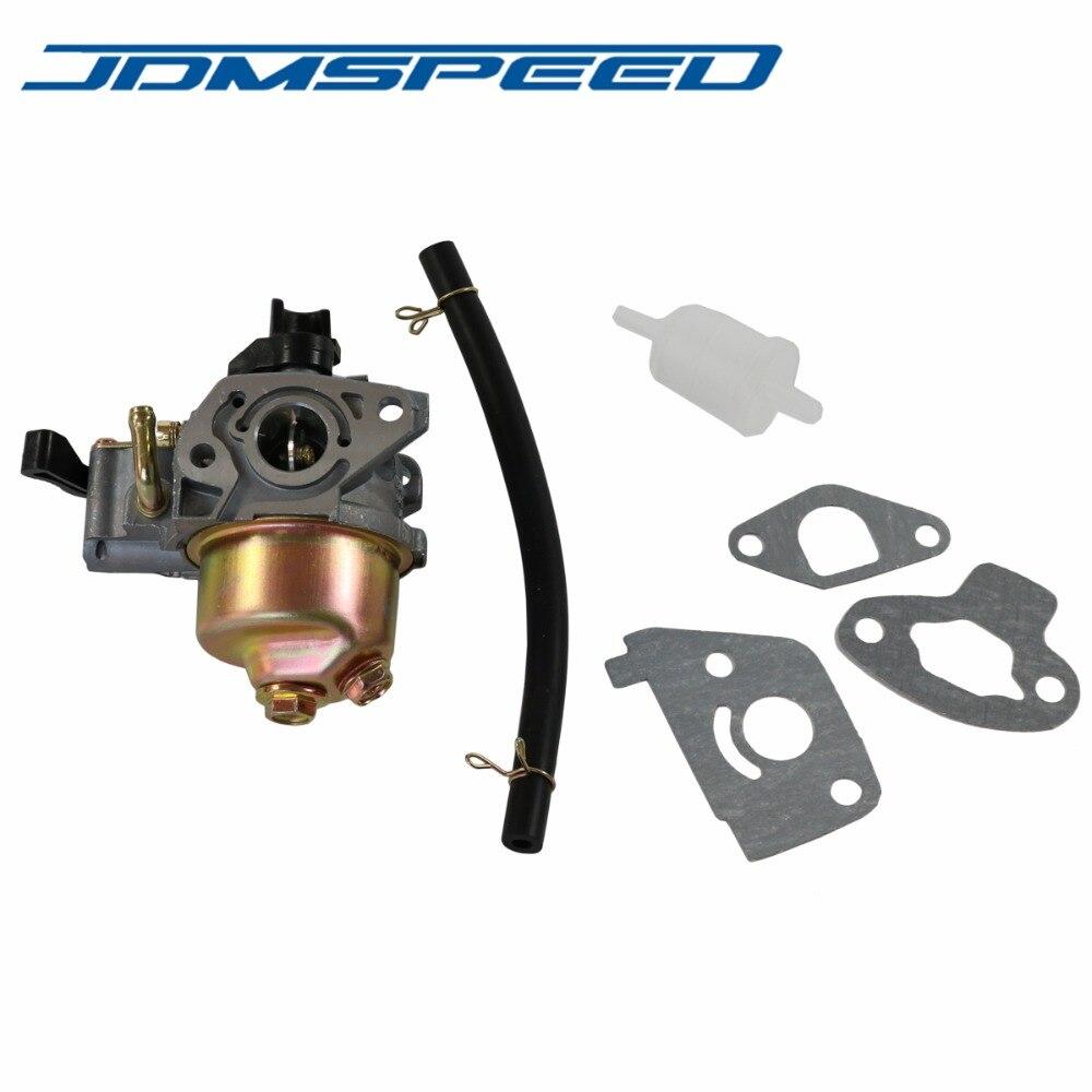 Frete Grátis-16100-ZOD-003 JDMSPEED Carb Carburador Com Filtro de Junta Para Honda GX100 Substituir 2.8HP 3HP