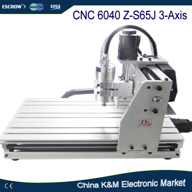 Free tax to Russian! CNC 6040 Z-S65J 3 Axis wood engraving PCB carving router with 800W spindle water cooling VFD russia tax free cnc woodworking carving machine 4 axis cnc router 3040 z s with limit switch 1500w spindle for aluminum