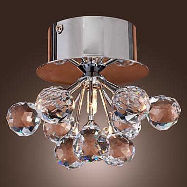 LED Kristall Deckenleuchte Unterputz K9 Leuchten Fr Wohnzimmer Veranda Flur Home InnenbeleuchtungChina