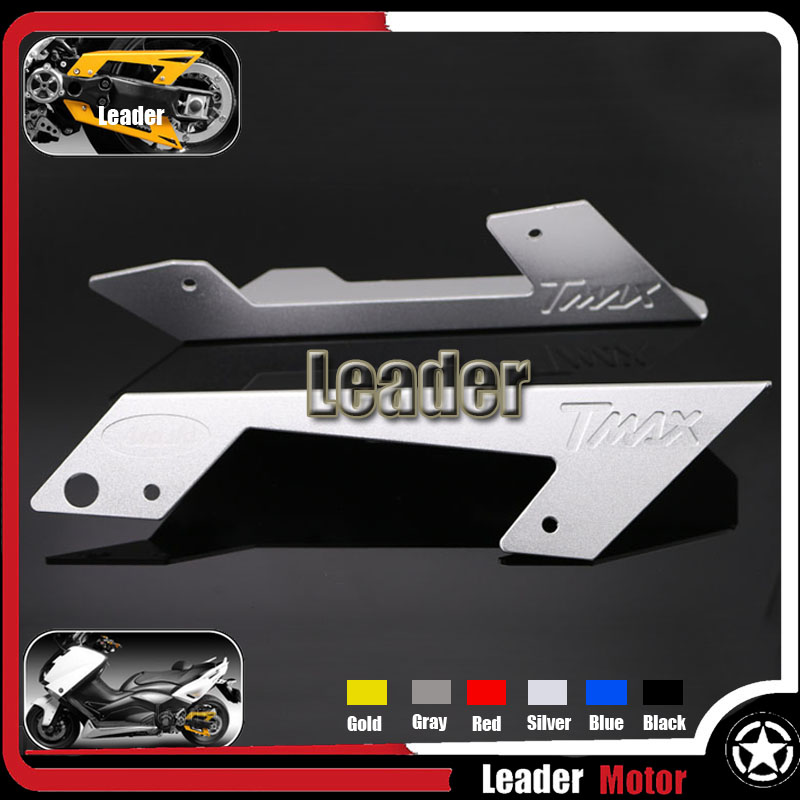 ФОТО Hot Sale Motorcycle Accessories Belt Guard Cover Protector Silver For Yamaha T MAX TMAX 530 T-MAX530 TMAX530 2012 2013 2014 2015