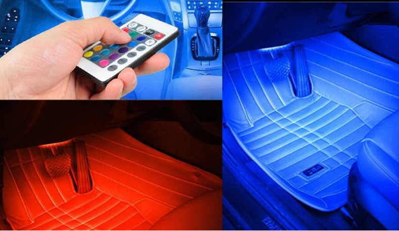 Car interior. LED dimming lamp accessories. for LADA Priora Niva Samara Kalina XRAY Vesta X-Ray Granta Largus styling sticker