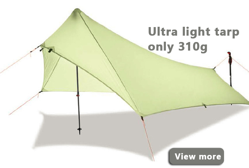 Ultra-Light-Rain-Fly-Tent-Tarp-Waterproof-20d-Silicone-Coating-Nylon-Camping-Shelter-Canopy-Rainfly-Lightweight