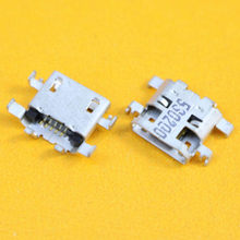 Micro mini USB charger Opladen Port jack socket Connector dock plug 5 pin solder voor Lenovo IdeaTab A8-50 A5500 A5500-F tablet(China)