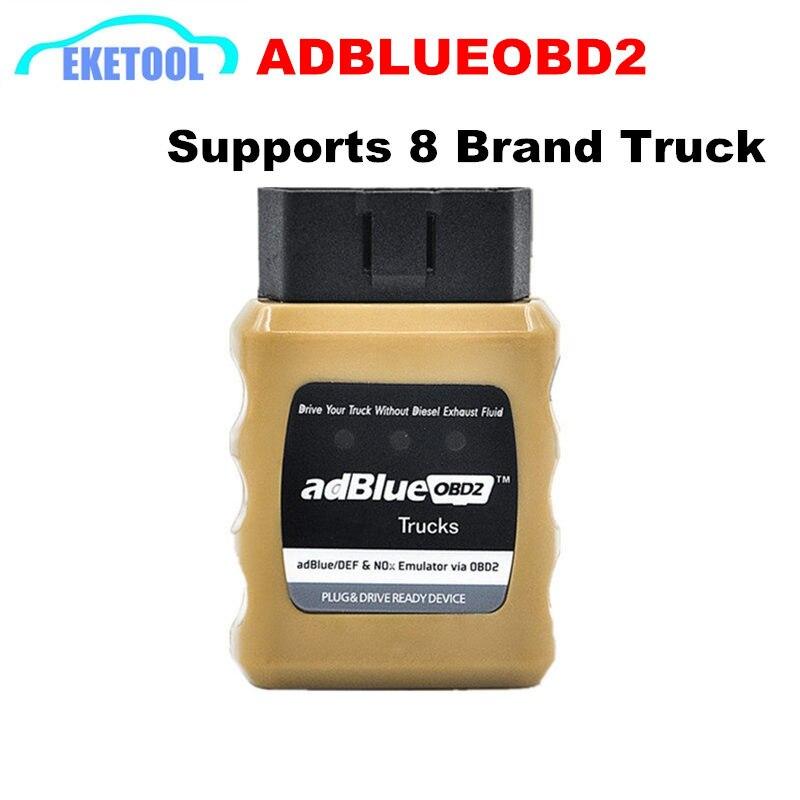 AdblueOBD2 Scanner Para RE/IVECO/DAF Adblue Emulator NOX/OBD2 DEF VIA OBD Interface de Diagnóstico Para Renault caminhão AdBlue OBD2