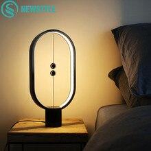 Dropship Heng Balance Night Light Smart Creative Indoor Decoration Lamp USB Powered Bedroom Home Table Light Christmas Kids Gift