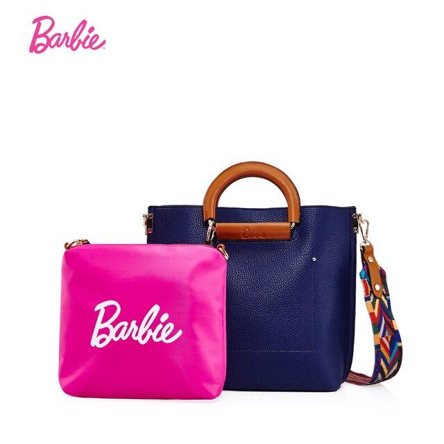 b72d9c924b4fc Barbie 2017 Luxus Frauen Handtasche Modische Moderne Composite-taschen  Weiblich mit angemessenem Großen raum design