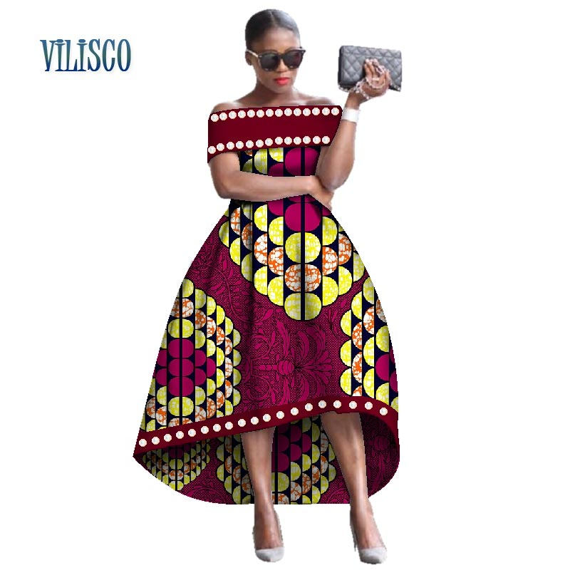 African Bazin Riche Dresses for Women Party Beads Imitation Pearls Long Dress Vestidos Plus Size African Women Clothing WY2589