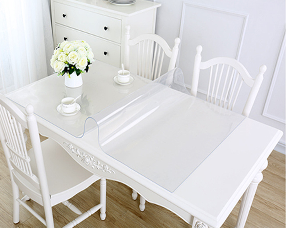 Balle 1 5mm Strong Transparent Pvc Tablecloth Waterproof