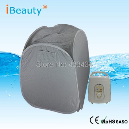 Steam Sauna Gray cost-efficient cabin stress relief overal health conditioning fat burning and body slimming portable room 2017 top selling most popular heating steam box home steam sauna fat burning and body slimming sauna room chair included