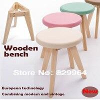 도매, promotion100 % 단단한 나무 + 한국 PVC, 나무 의자, 식당 의자, 홈
