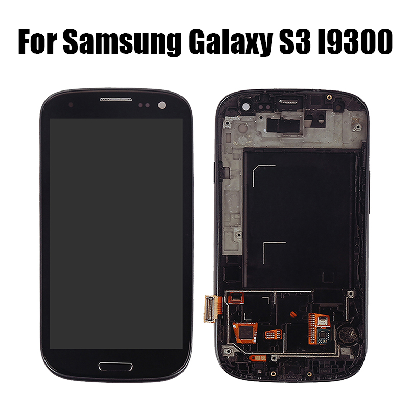 <font><b>LCD</b></font> For <font><b>Samsung</b></font> <font><b>Galaxy</b></font> <font><b>S3</b></font> SIII I9300 i9300i i9301 i9308i i9301i i9305 <font><b>LCD</b></font> Display Touch <font><b>Screen</b></font> Replacement Parts for <font><b>samsung</b></font> <font><b>s3</b></font> image
