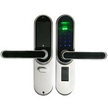 Biyometrik Parmak Izi Elektronik Akıllı Kilit, kod, dokunmatik Ekran Dijital Şifre Kilit Anahtar lk01