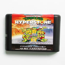 Turtles The Hyperstone Heist Game Cartridge Newest 16 bit Game Card For Sega Mega Drive / Genesis System