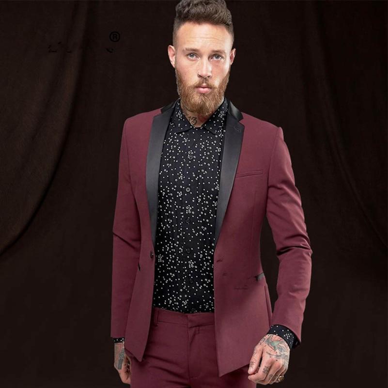 WesteSame Smoking As Business Mann Slim Für Anzüge Anzug Fit