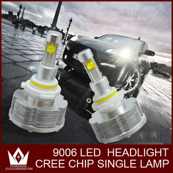 ФОТО Guang Dian Car led light Headlight Headlamp Conversion Kits 3000LM High power Super Bright car styling all in one 30W 9006 Hb4
