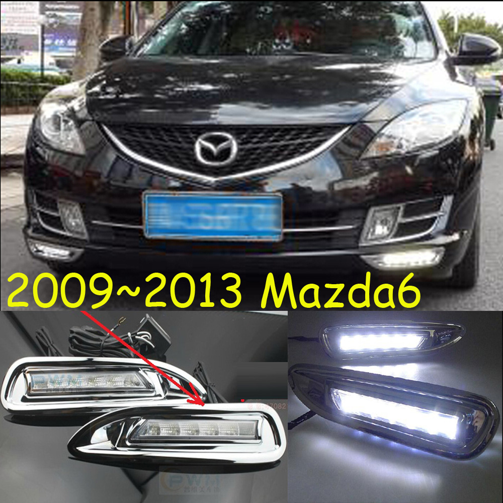 2009~2013 mazd 6 daytime light,Free ship!LED,MAZD6 fog light,mada,2ps/set;(pls make sure your car the same to the picture) 2013 2016 innova daytime light free