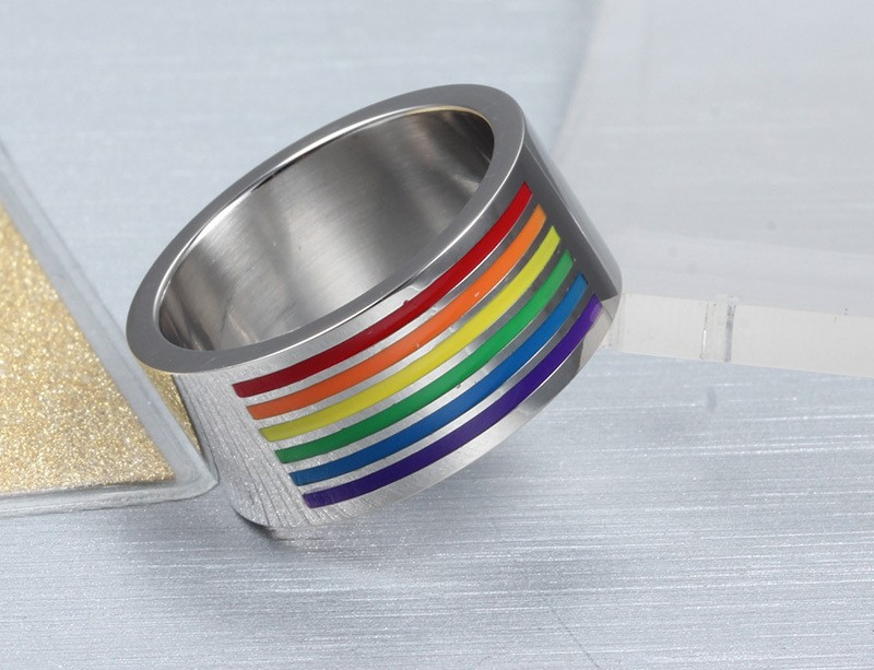 HTB188dzIFXXXXaxXXXXq6xXFXXXj - Multicolor Titanium Steel Ring