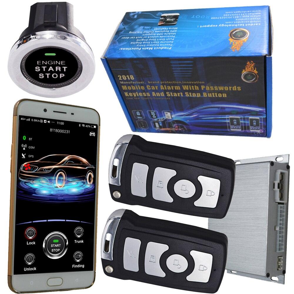Дистанционный двигателя автомобиля Стартер GSM GPRS gps трекер локатор автосигнализации с удаленного запуска двигателя остановка bluetooth запись
