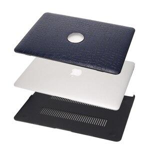 Image 2 - Чехол для MacBook Air 13, Aiyopeen из искусственной кожи с жесткой пластиковой нижней крышкой для MacBook Air Pro Retina 11 12 13 15