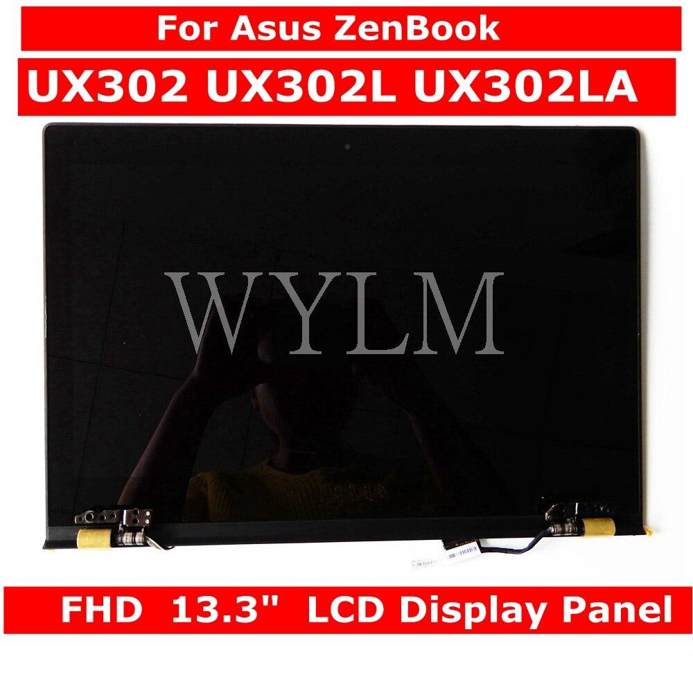 For Asus Zenbook UX302 UX302L UX302LA Laptop LCD Display Panel +Touch Screen Digitizer Glass Sensor Assembly Upper Half Part For Asus Zenbook UX302 UX302L UX302LA Laptop LCD Display Panel +Touch Screen Digitizer Glass Sensor Assembly Upper Half Part