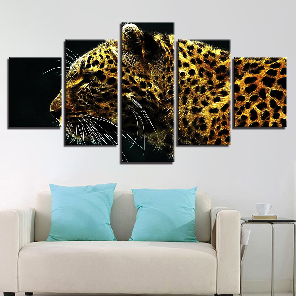 Canvas Painting 5 Piece Modern Picture Wall Art Picture