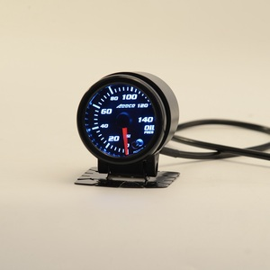 "Image 3 - Car Auto 12V 52mm/2"" 7 Colors Universal Oil Press Gauge Oil Pressure Meter LED With Sensor and Holder AD GA52OILP"