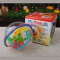 2016 Hot selling Mini magic ball 3D magic ball maze elderly adult puzzle novelty toys Magic Cubes wholesale