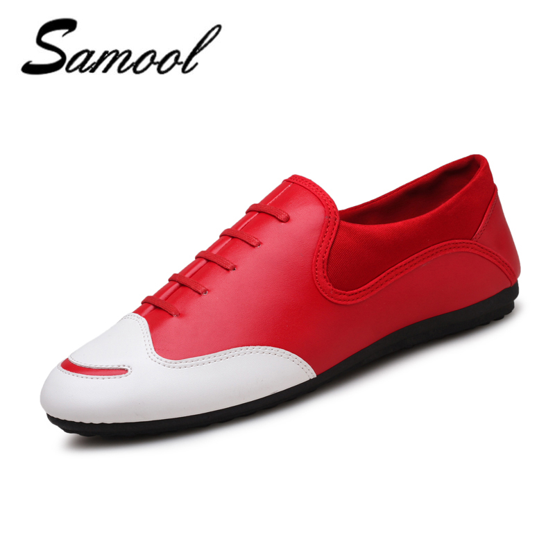 shoes men fashion casual pu Leather slip on business brand men dress - Men's Shoes - Photo 1