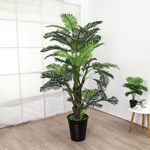Искусственные растения 70-160 см жемчужное подсолнечное дерево масштабные растения в зелени для гостиной напольная Мебель комнатные искусственные растения
