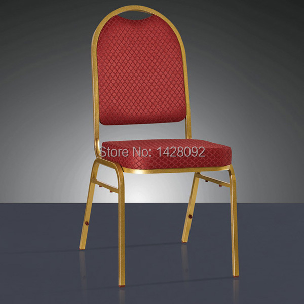 quality strong Stacking iron banquet chairs LQ-T8021