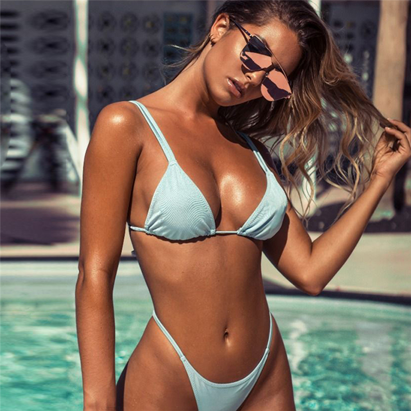 Sexy Bikini Swimwear Set Women Swimsuit Low Waist Swimwear Tankini Biquini Swimming Biquinis Swim Swiming For Women Bathing Suit