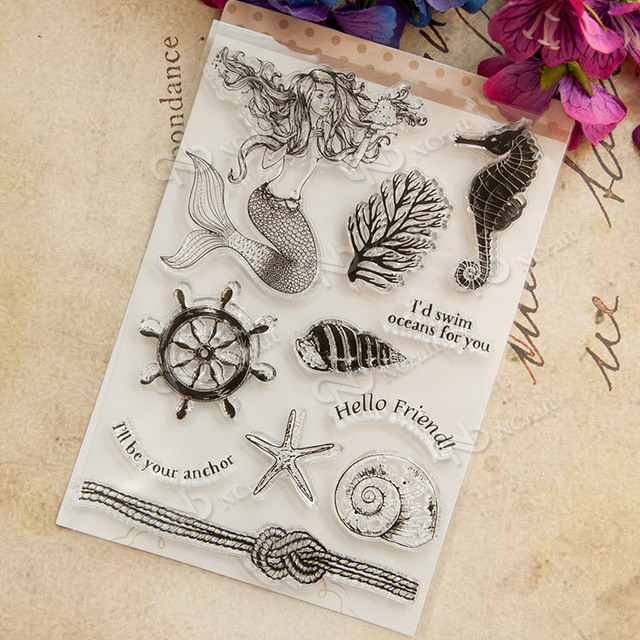 NCraft Clear Stamps N1205 Scrapbook Paper Craft Clear stamp scrapbooking