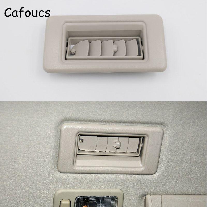 Cafoucs For Mitsubishi Montero Pajero V73 V75 V76 V77 V78 Car Roof Air Vent Air Conditioning Outlet