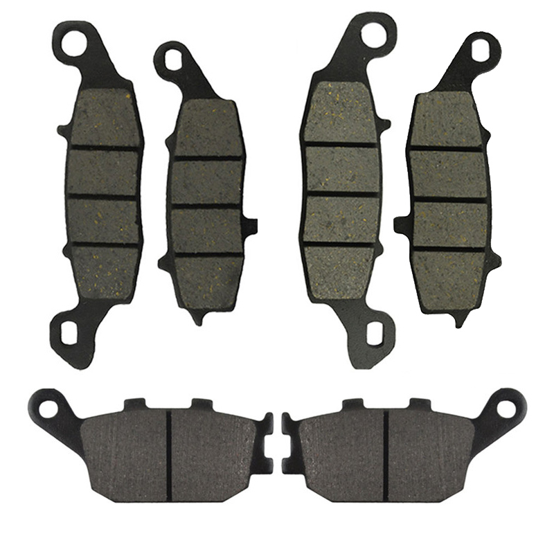 AHL Motorcycle Front and Rear Brake Pads for Suzuki SV400 2003-2005 SV650 2002-2013