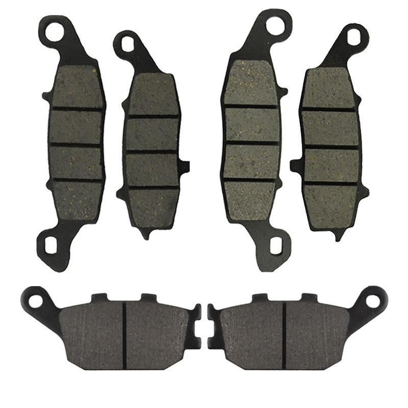 Передние и задние тормозные колодки для мотоцикла Suzuki SV400 2003-2005 SV650 2002-2013 DL650 V-Strom 2004-2013 DL1000 2002-2010