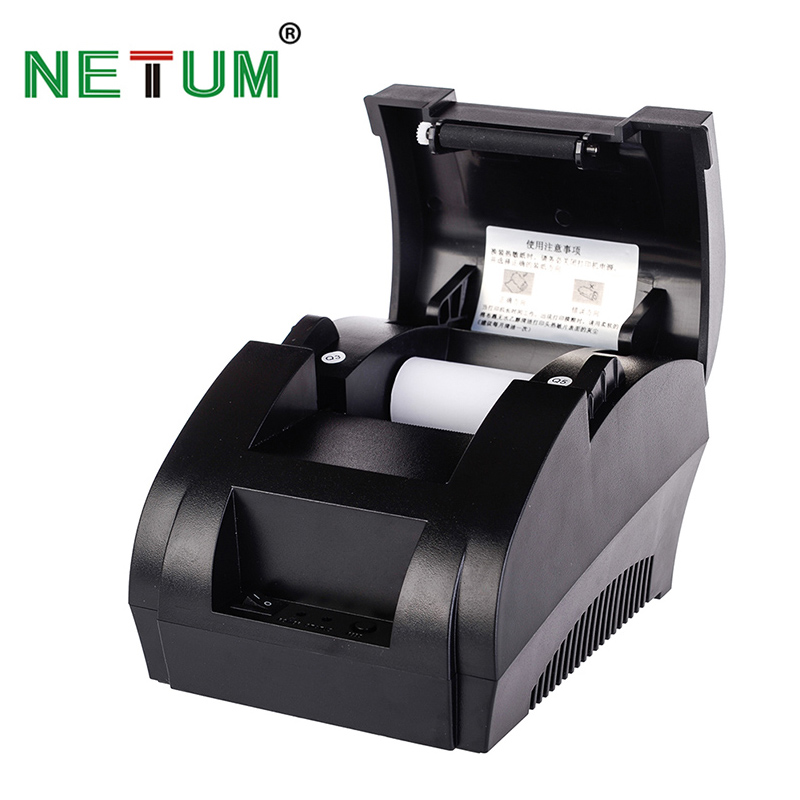 Imprimante Ticket thermique 58mm Imprimante Thermique USB pour POS Système Supermarché NT-5890K