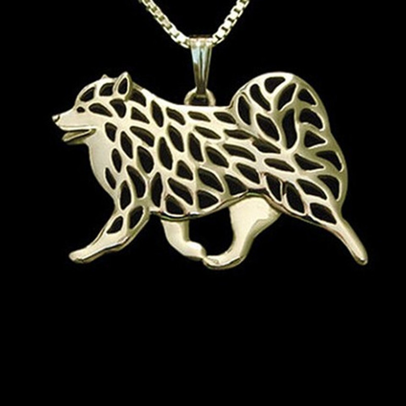 Samoyed Dog necklaces & pendants for women men girls silver/gold - Fashion Jewelry - Photo 3