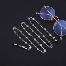 Skyrim Four-leaf Clover Shape Sunglasses Lanyard Strap Necklace Glasses Chain Cord for Reading Glass