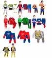 Детей мультфильм одежды дети пижамы история игрушек вуди базз лайтер мальчики pijamas ребенок пижаме паук халк пижамы для 2-7