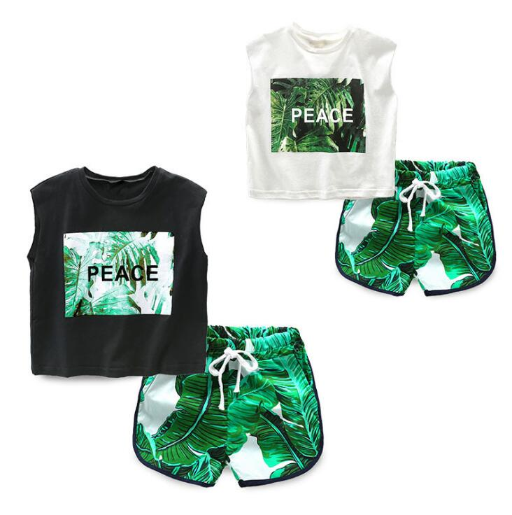 s Clothes 2018 Summer Baby Girls Clothes Set T-shirt+Pants Outfits Baby Girls Sport Suit Infant Clothing Sets ...
