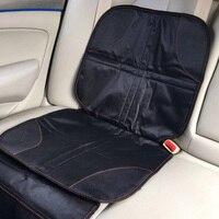 Protetor para assento de carro  capa de algodão oxford universal para segurança infantil  à prova d'água  com bolso