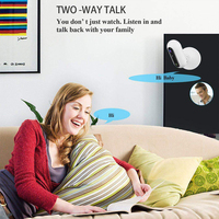 Wireless Video Remote Control Portable Office WIFI Two Way Audio Motion Detection Baby Monitor High Resolution Fisheye Lens Home
