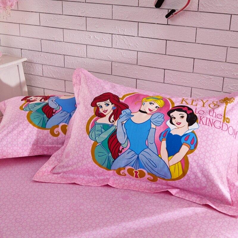 Twin двуспальная один постельных принадлежностей для детей 100% хлопок мягкая кровать набор 4 шт. современный в простом стиле пододеяльник прос... - 4